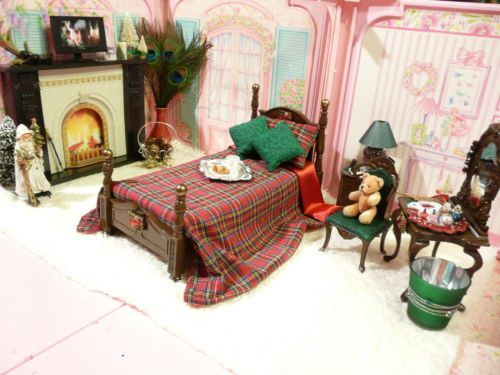 OOAK Barbie Bedroom House Furniture Diorama Lot Fireplace 1 6 Scale TV  Vanity   eBay. The 25  best Barbie bedroom ideas on Pinterest   Barbie room  Pink