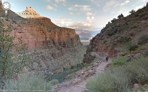 Parc national du Grand Canyon – StreetView – GoogleMaps