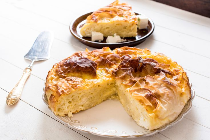 Learn how to make and prepare the recipe for Tembelopita Zagoriou, also known as Greek lazy pie from Zagori, Greece.