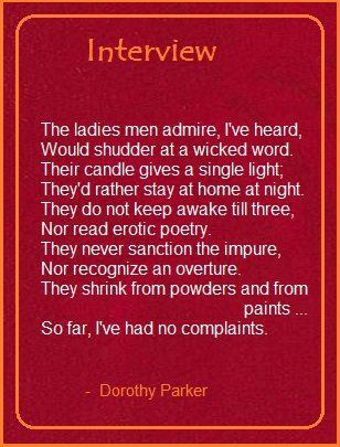 146 best Dorothy Parker images on Pinterest Dorothy parker - resume dorothy parker