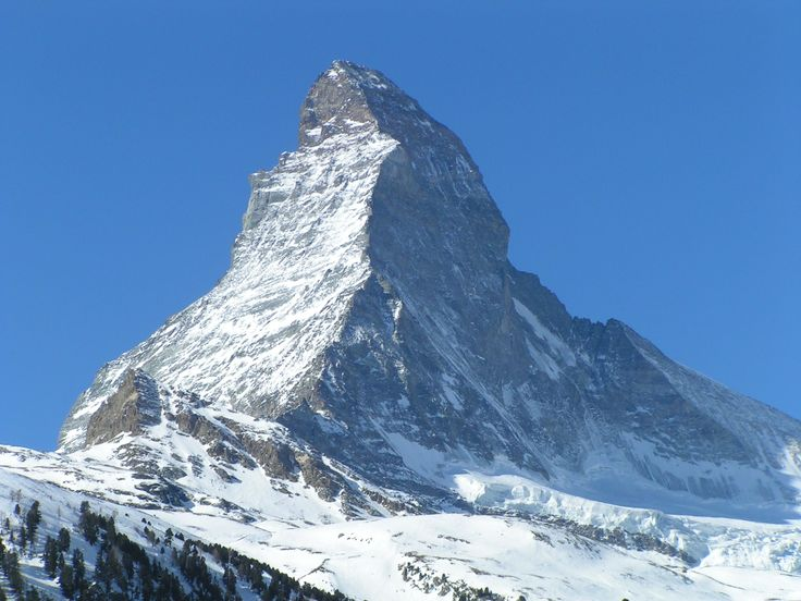 I have seen the real Matterhorn, and it is pretty amazing!