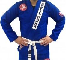 Gracie Barra Basic Gold Uniform (Gi) - Gold Blue  Price: £90.00  SKU: 008  Brand: Gracie Barra