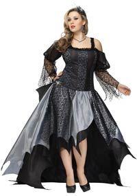 spider queen plus size costume halloween costumes - Spider Witch Halloween Costume
