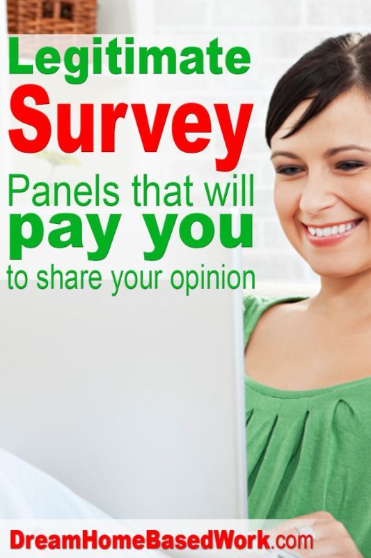 Take surveys and earn money