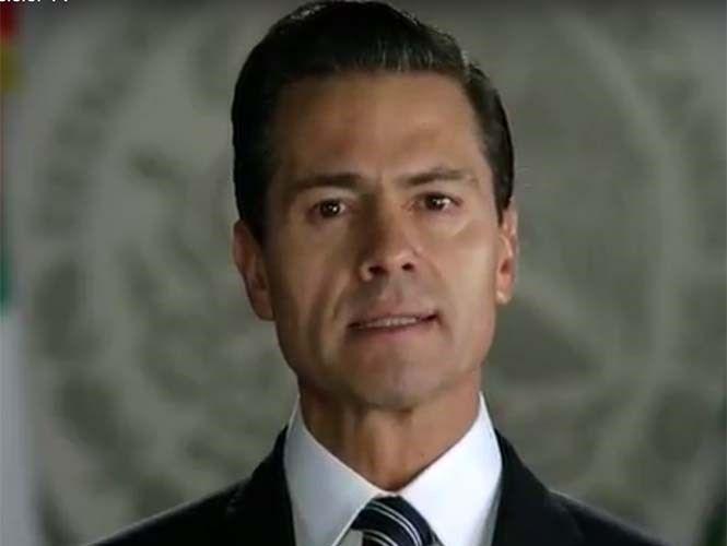 Aumento en precio de gasolinas viene del exterior: Peña Nieto