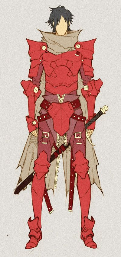 Crimson Knight - concept by *MizaelTengu on deviantART ✤ || CHARACTER DESIGN REFERENCES | キャラクターデザイン • Find more at https://www.facebook.com/CharacterDesignReferences if you're looking for: #lineart #art #character #design #illustration #expressions #best #animation #drawing #archive #library #reference #anatomy #traditional #sketch #development #artist #pose #settei #gestures #how #to #tutorial #comics #conceptart #modelsheet #cartoon || ✤