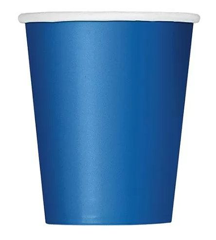 Royal Blue Paper Cups set of 24 by FunWithPearl on Etsy