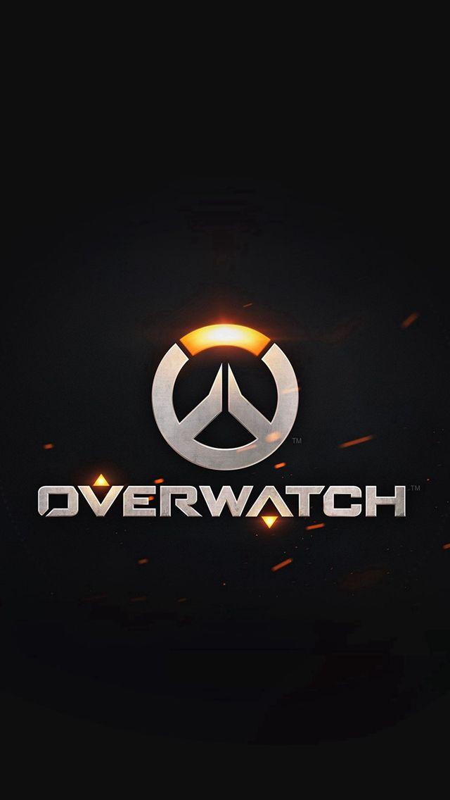 Overwatch Logo Simple Game Art Illustration Dark #iPhone #5s #wallpaper