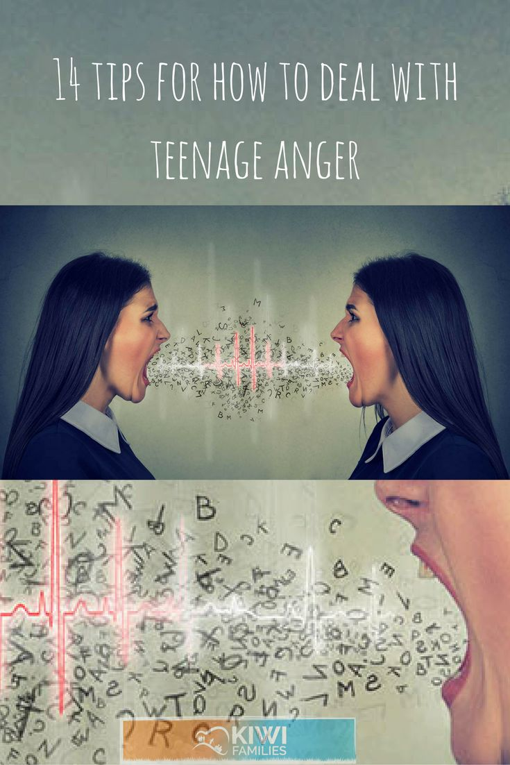 14 tips for how to deal with teenage anger. Anger in teens can be particularly  frightening or upsetting for the adults around them. Teens are at a time of their lives when emotions can overcome them and they don't know what to do with these strong feelings.