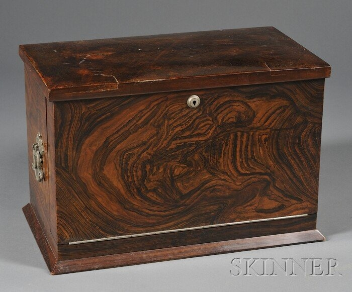 Officer's Traveling Desk Box, 19th century
