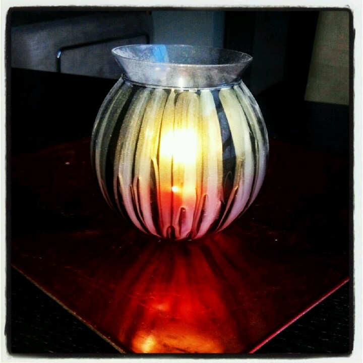 hand painted candles glass painted candles glass glass candle holders. Black Bedroom Furniture Sets. Home Design Ideas