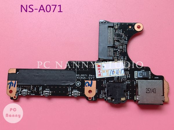 Genuine Original Audio USB board for LENOVO yoga 2 pro 13 series NS-A071 REV:2.0 KONA-SVT