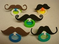 moustache: Idea, Moustache, Baby Gifts, Baby Boys, Mustache Pacifiers, Future Baby, Baby Shower Gifts, Kids, Baby Shower
