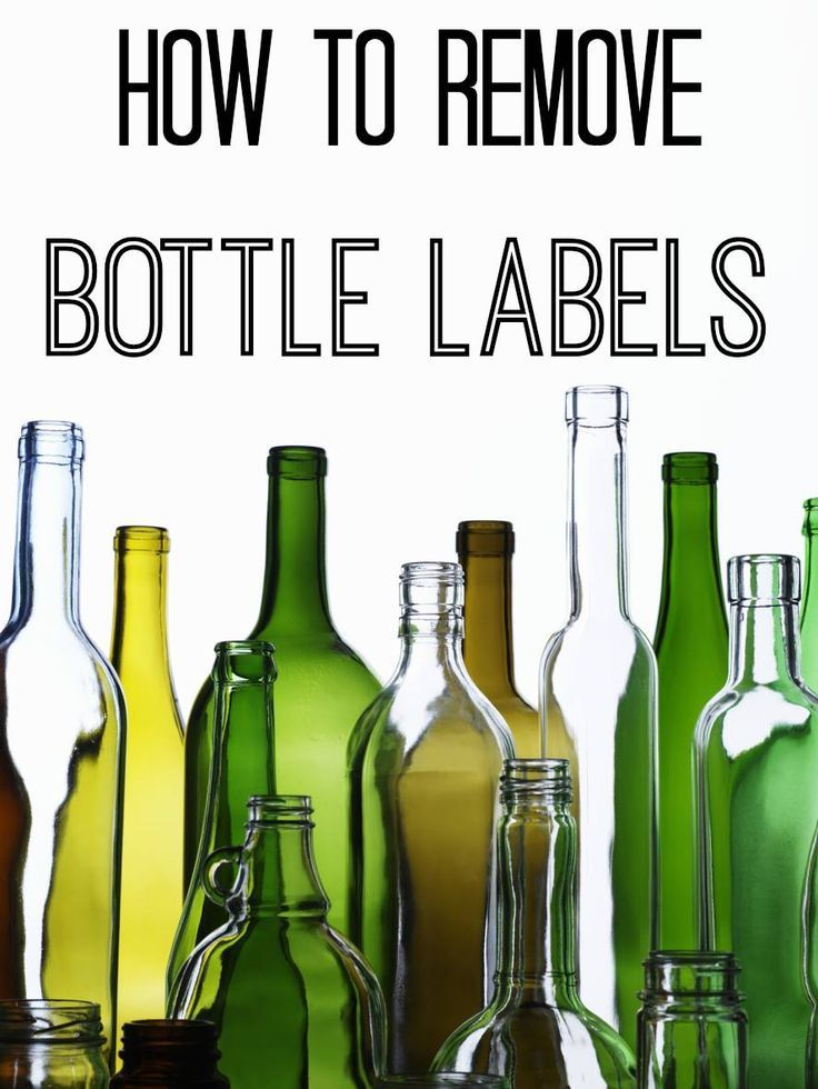 Easy ways to remove a bottle label to use beer bottles for a cool DIY project.