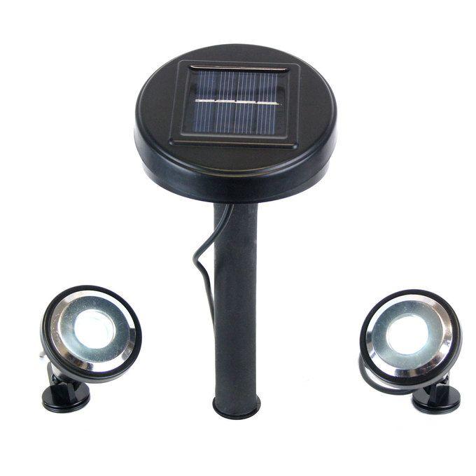 Best 25 solar spot lights ideas on pinterest solar spot lights high output adjustable solar spot lights set of 2 aloadofball Image collections