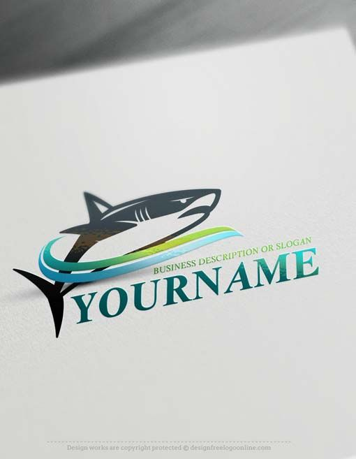 Free Logo Maker  Powerful Shark Logo Creator