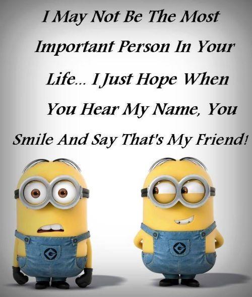 Funny Minions Friends. See my Minions pins https://www.pinterest.com/search/my_pins/?q=minions