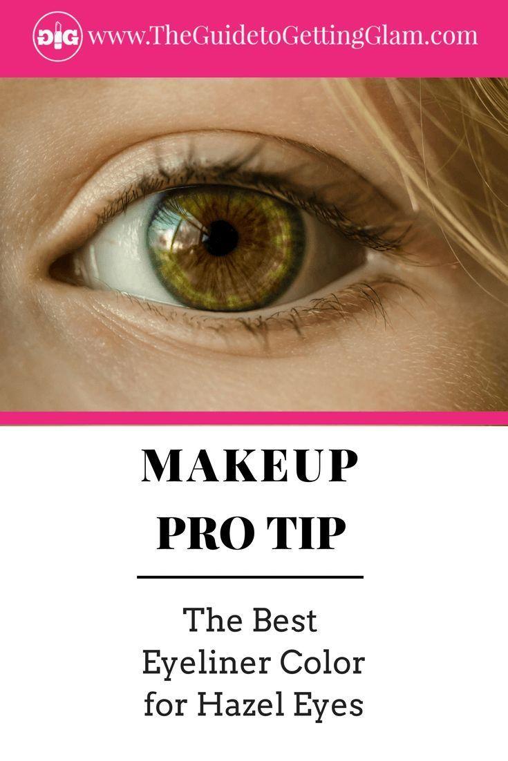 The Best Eyeliner Color For Your Eyes Best Eyeliner Hazel Eye