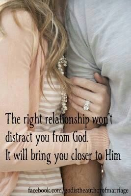 good relationships are centered around God