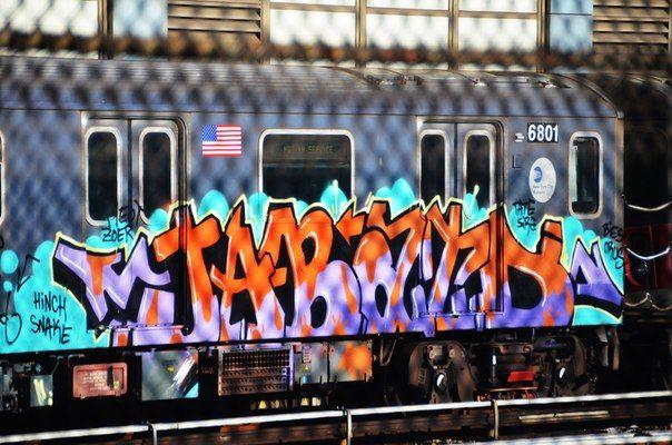 Resultado de imagen para metro de nueva york estaciones graffiti
