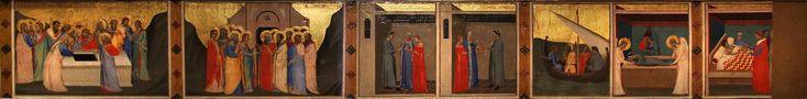Bernardo Daddi : Storie della Sacra Cintola (Museo Civico - Prato  (Italy - Prato)) 1280-1348 ベルナルド・ダッディ