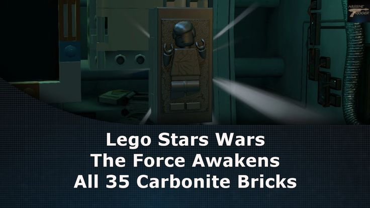 Lego Star Wars The Force Awakens All 35 Carbonite Bricks Locations With Maps