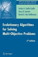Evolutionary algorithms for solving multi-objective problems.       Coello Coello, Carlos A.