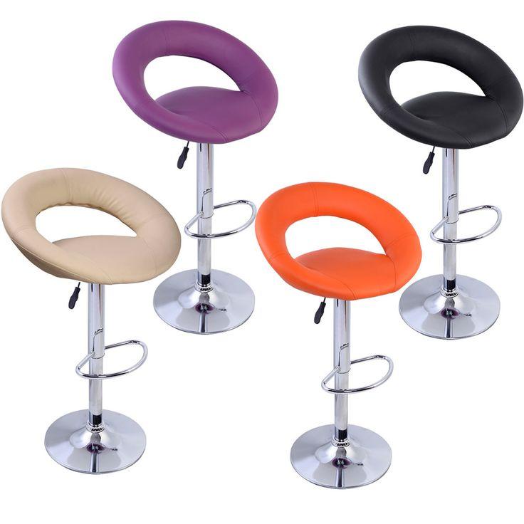 Vendita diretta della fabbrica Ruota di 360 gradi Cuoio commerciali moderni sgabelli da Bar sedia da ufficio sedie HW50127