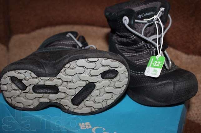 Детские ботинки columbia rope tow