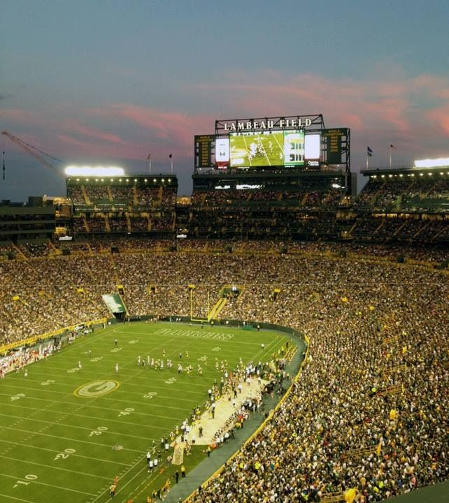 Attendance for the Packers-Cardinals game August 9, 2013 was 73,738, a new record!!!