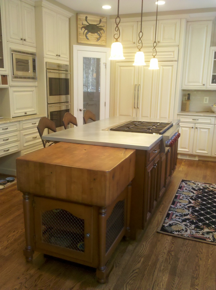 Kitchen Island With Zinc Countertop Bing Images For The Home Pinterest Countertop