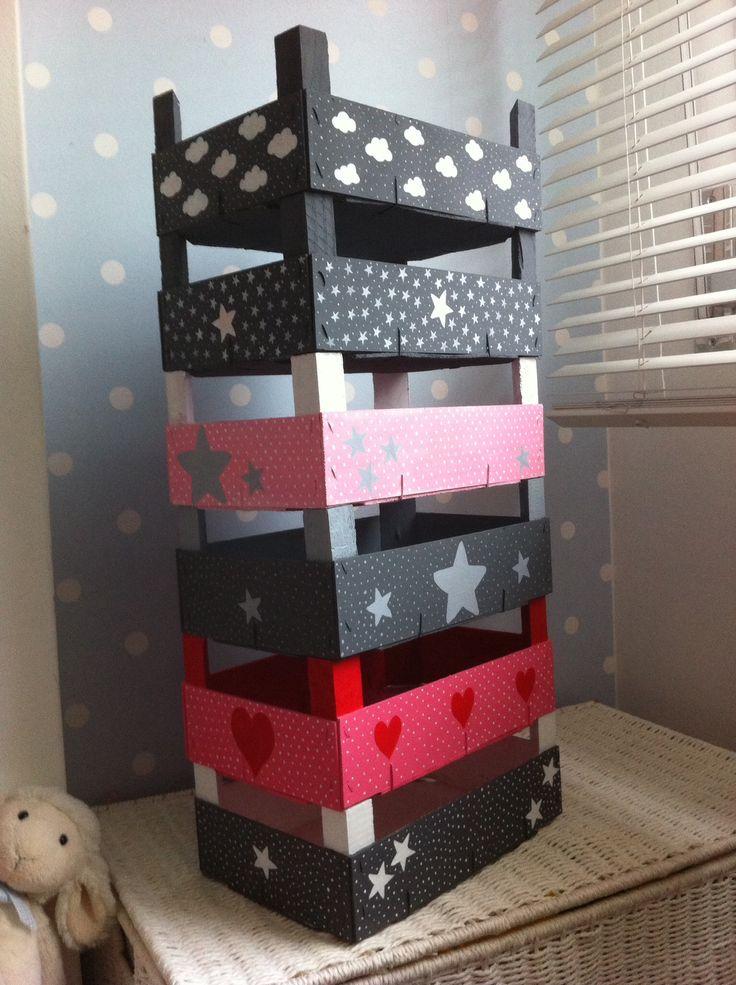 Cajas de frutas tuneadas by LoChousa ༺✿ƬⱤღ http://www.pinterest.com/teretegui/✿༻