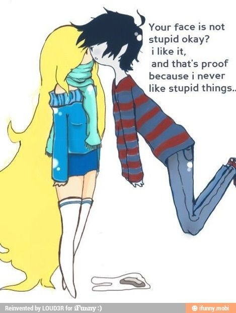 Marshall Lee and Flame Prince