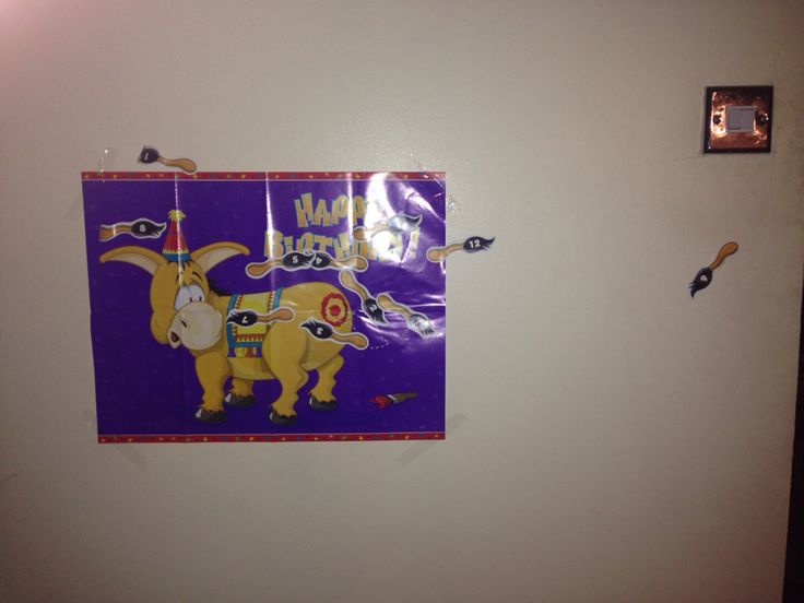 Mexican theme party. Sombreros. Pin the tail On the donkey
