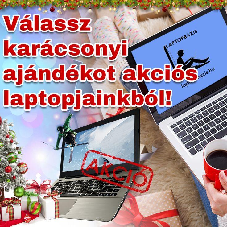 Válassz karácsonyi ajándékot akciós laptopjainkból!