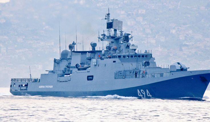 Военные корабли РФ в полной боевой готовности отправились к берегам Сирии | InfoResist