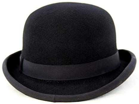 113b92f8f0e7b Bowler Hat Has Never Been Out Of Fashion Thorness 100% Felt Bowler Hat -  Size