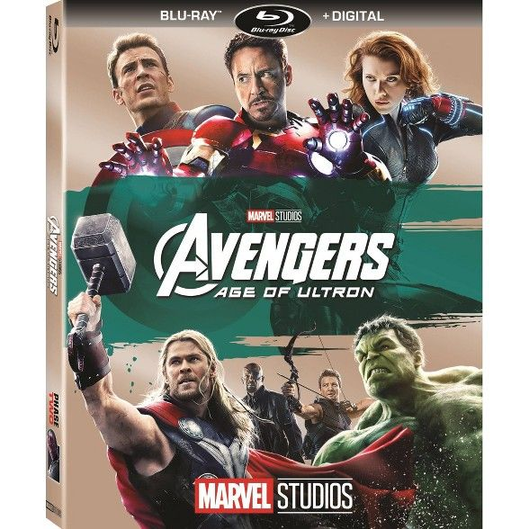 Marvel S Avengers Age Of Ultron Blu Ray Digital In 2020 Age