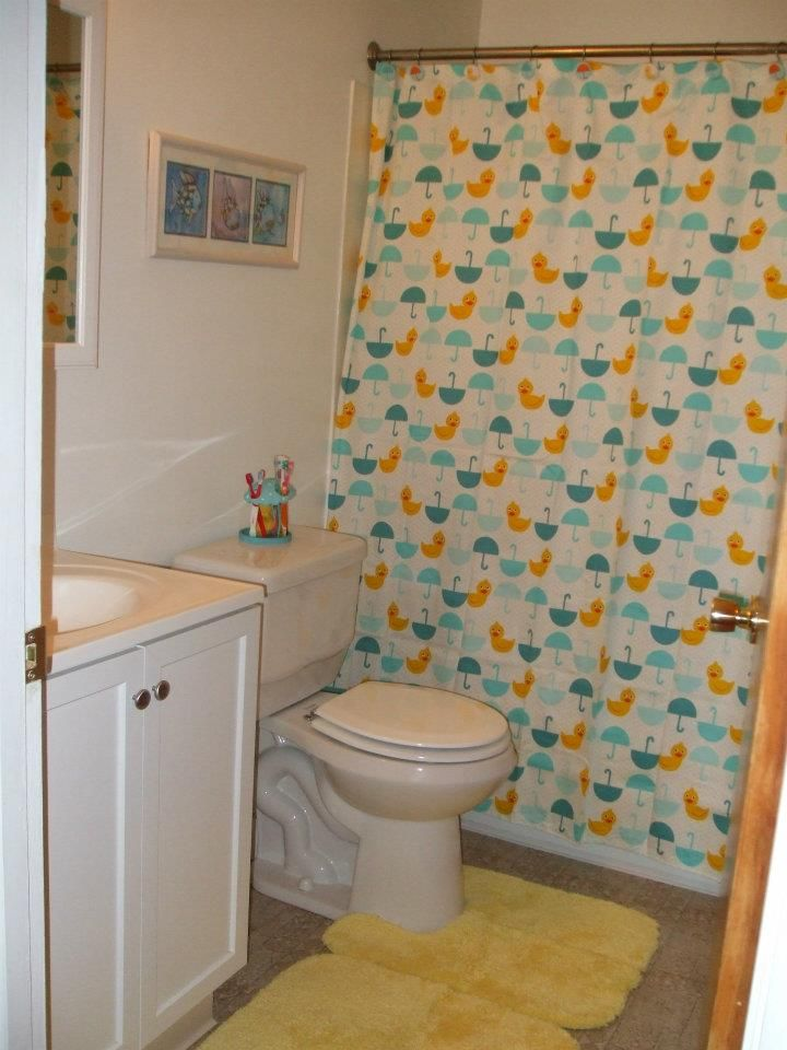 Spring Bathroom with ducks!
