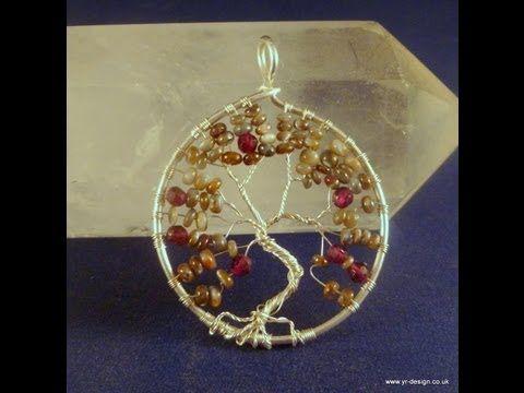 Come Realizzare un Albero della Vita / Tree of Life Tutorial - Tecnica Wire - YouTube