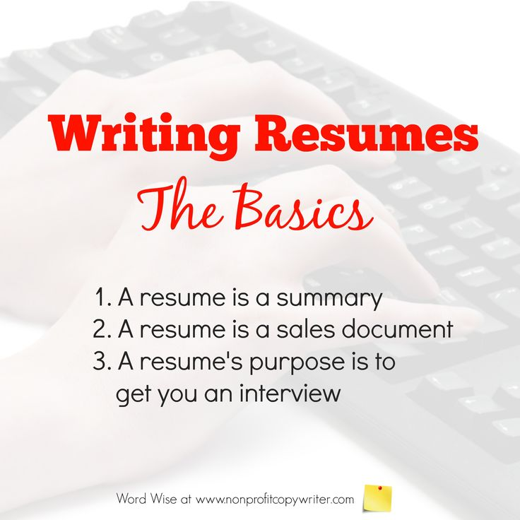 40 best Tips for Writing Resumes images on Pinterest Career - want to make a resume