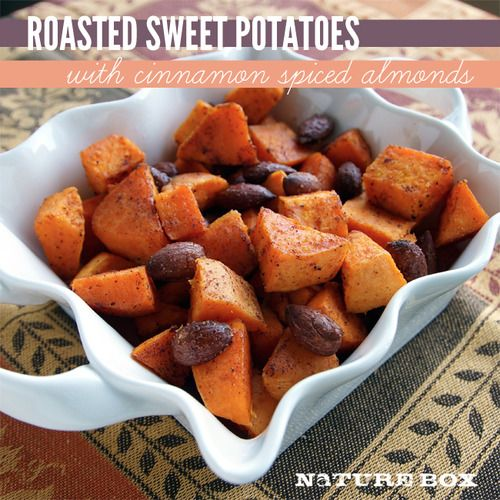 sweet potatoes and almonds