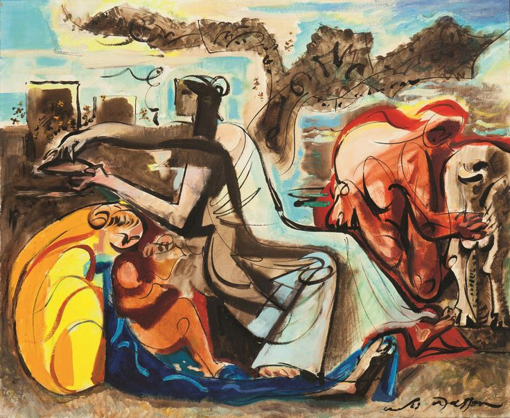 André Masson's 'Le Miel et Le Lait', 1968