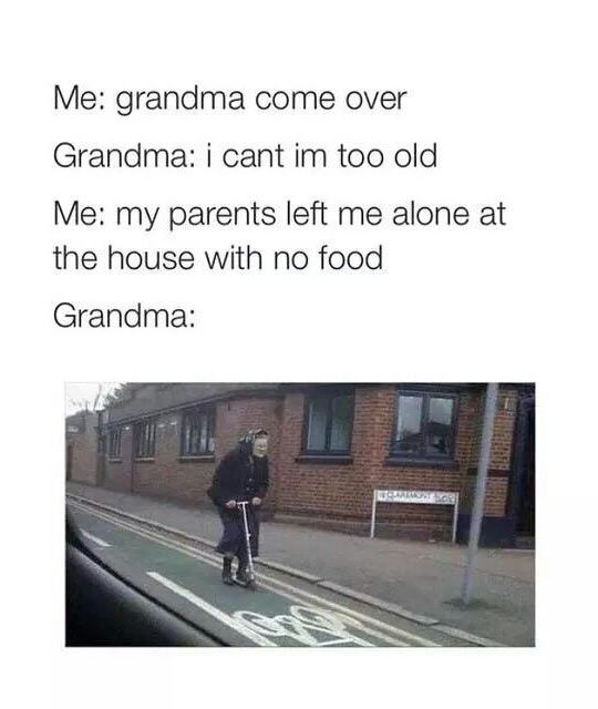 Grandma's Food Emergency
