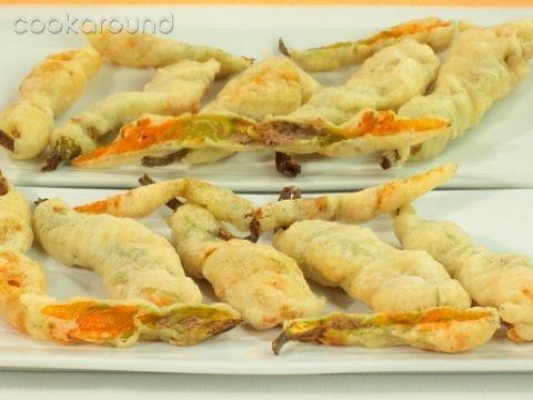 Fiori di zucca fritti: Ricetta Tipica Lazio   Cookaround