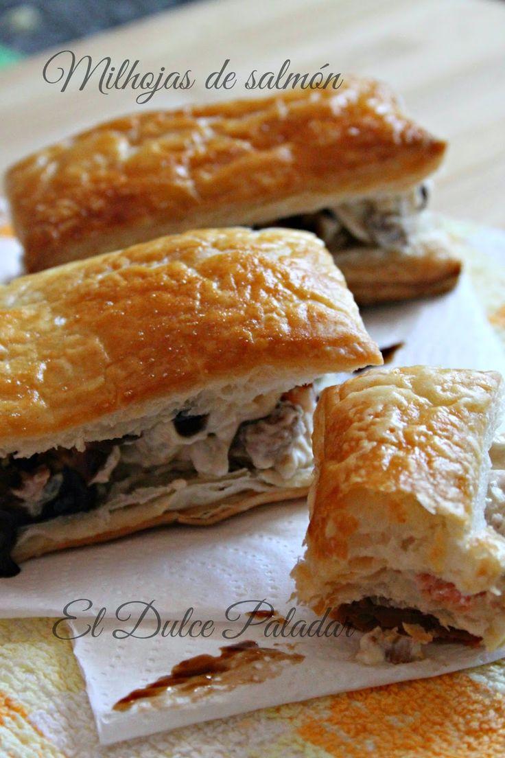 El dulce paladar: Miloja de queso y salmón