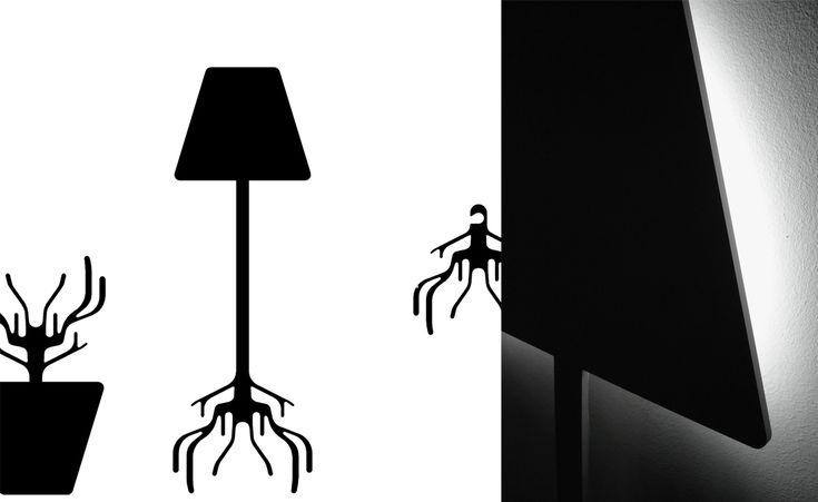 SYAA | Root www.syaa.ro #design #object #lamp #hanger #light #root #tree