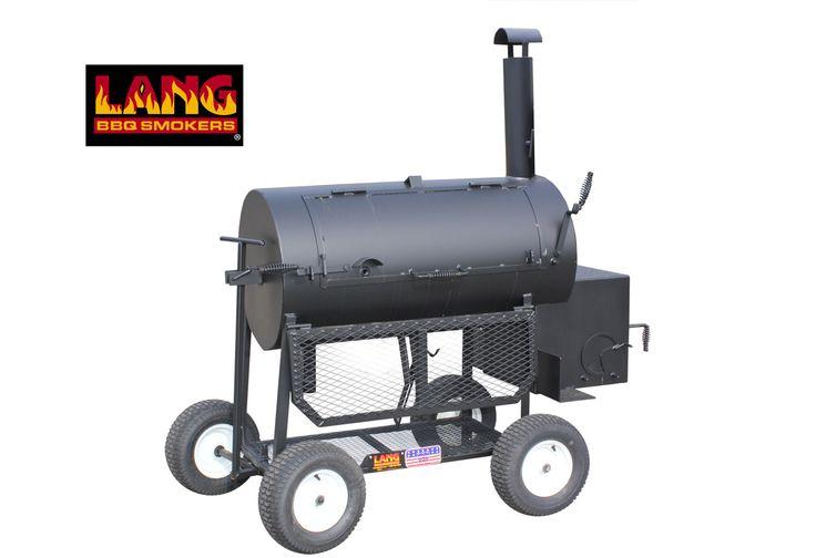 "48"" Patio Lang Smoker Cooker"