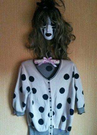 Kup mój przedmiot na #vintedpl http://www.vinted.pl/damska-odziez/swetry-z-dzianiny/12161011-bezowy-sweter-w-kropki-vintage