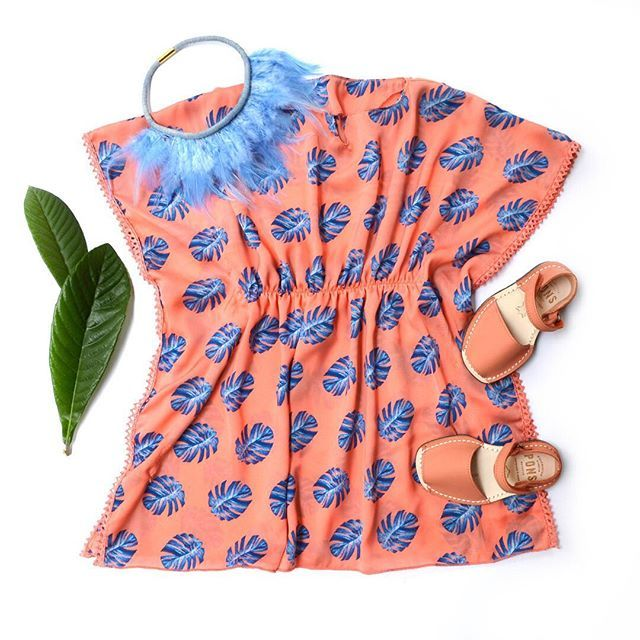 Beach coverups for little girls. Perfect for tropical vacation or for pool. Trendy, doesn't wrinkle, washer and dryer safe.
